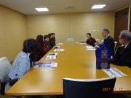 DSC00361学長先生と歓談