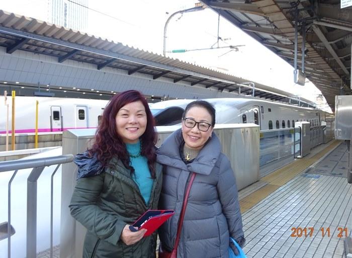 DSC00532東京駅ホームで