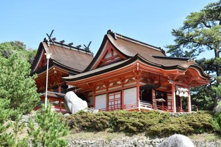 日御碕神社下の宮