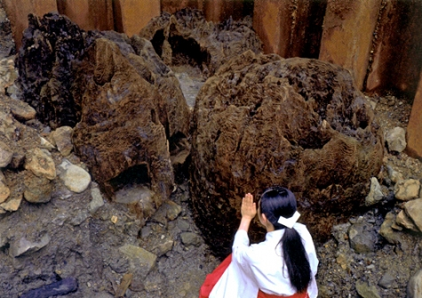 宇豆柱(古代出雲歴史博物館)