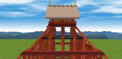 出雲神殿(東側アップ)