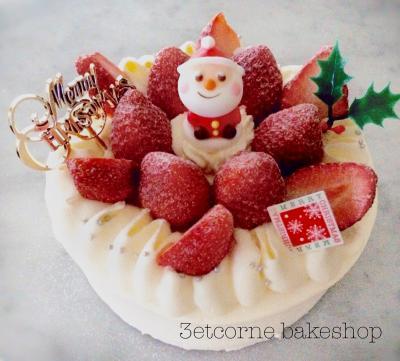 2017 X'masデコレーションケーキ