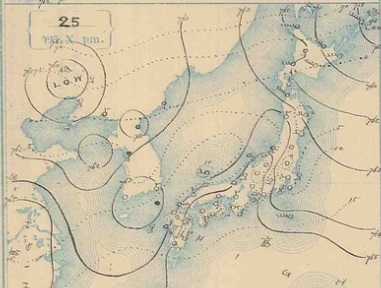 19071225天気図