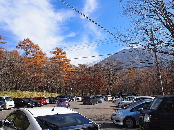 竜頭の滝 駐車場