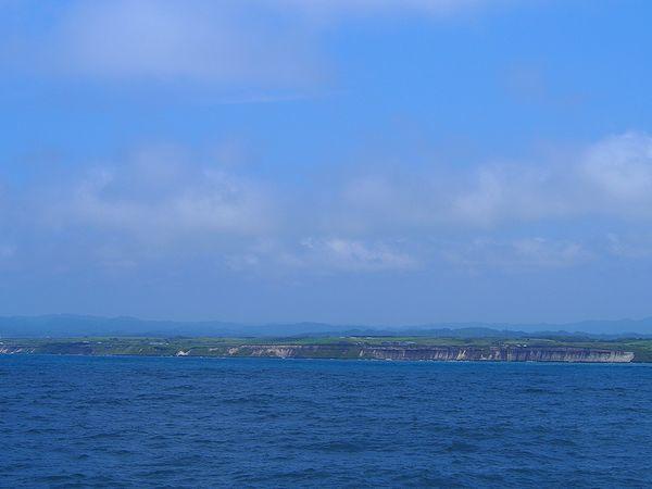 羽幌の海岸線