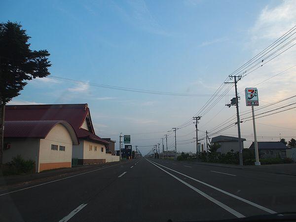 北見市内の国道39号線