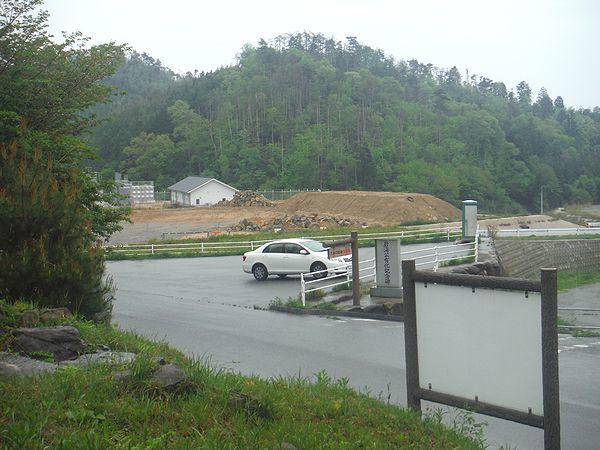 久井の岩海の駐車場