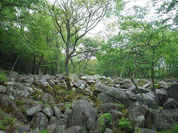 水音峡@久井の岩海
