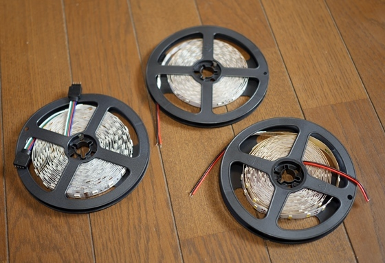 LEDテープ3種