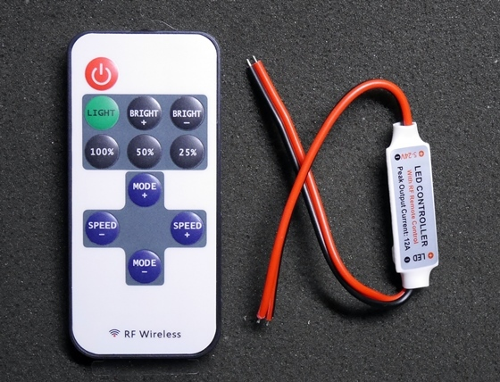 LEDテープリモートコントローラー