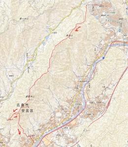 高城山地図