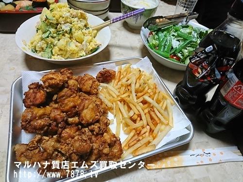 クリスマス 唐揚げ 豊橋ブランド品買取マルハナ質店
