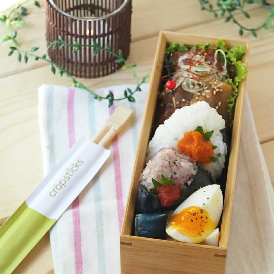 今日の竹弁当3