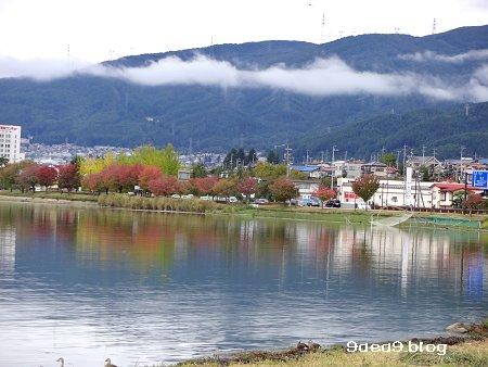 2017 10 7 とりあえず 諏訪湖の見える位置でブログ 2