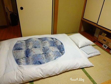 初めて泊まった ホテルの和室 1