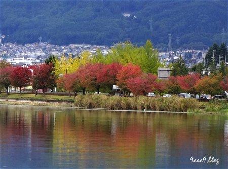 美しい信州諏訪湖の写真を再び 2