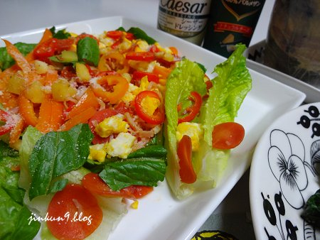 なんとなく11-25 11月25日 野菜メインの食事 1