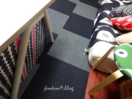 なんとなく12-09 12月09日 食卓テーブルの下は収納庫なので目隠し有り 1