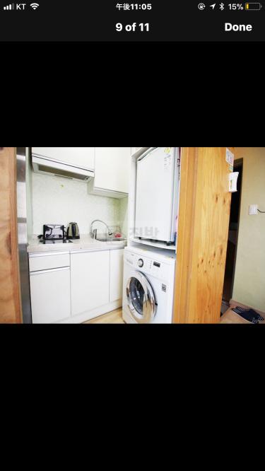 なぜ、冷蔵庫をその位置にしたんだろう・・・w