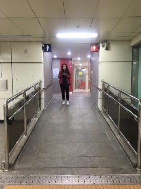 ついにイデ駅のトイレが!!!