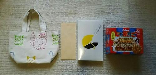 支援物資(大阪府 M・I さま)
