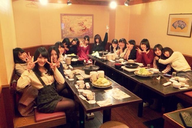 NMB48チームMの忘年会