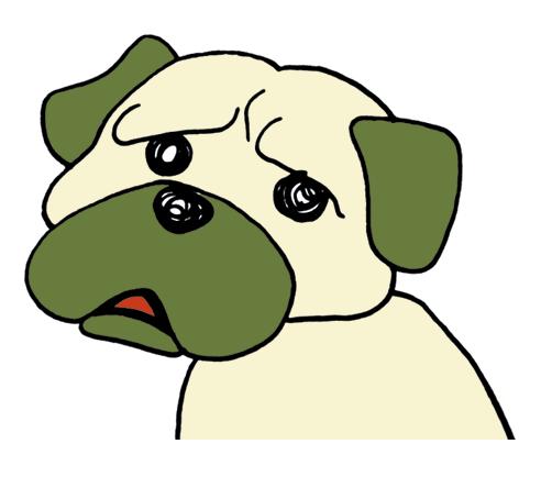 困ったイヌ