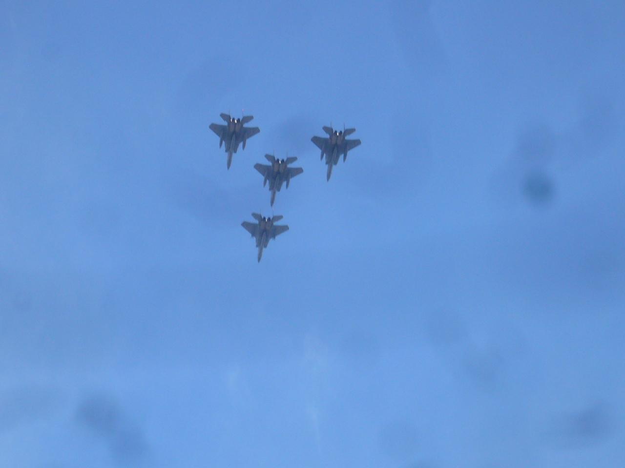 F15J4機編隊 H29.10.09