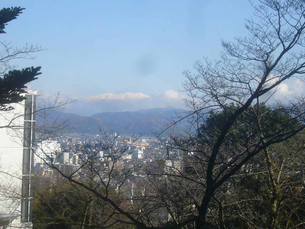 継体天皇像から白山 H29.11.27