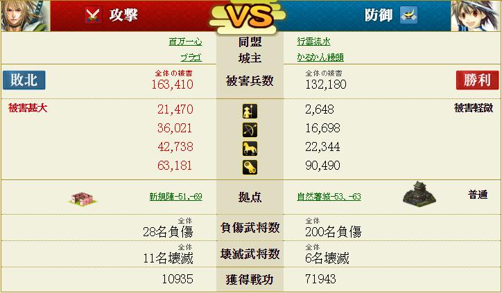 盟主戦3-1