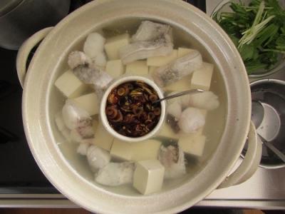 たら湯豆腐