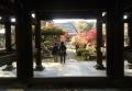 山門「呑天閣」から見る多福寺本堂