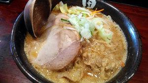 田ぶし味噌ラーメン