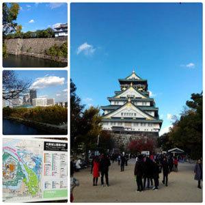 大阪城観光