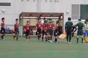 2013/05/18 カブスリーグ 札幌U-15vsSSSジュニアユース 選手入場