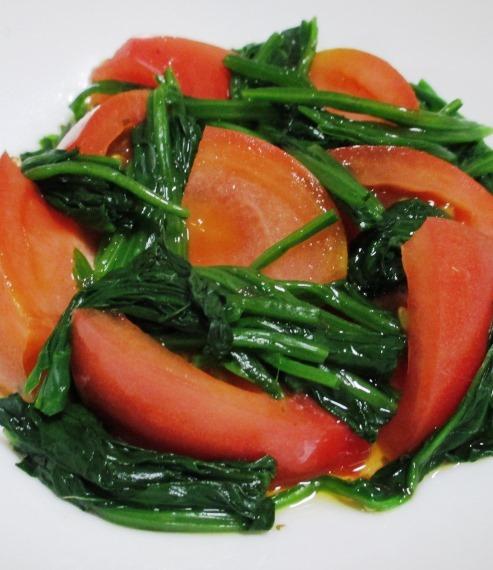 ほうれん草とトマト B