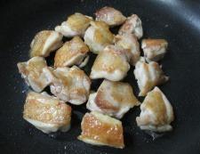 鶏もも肉とブロッコリー 調理③