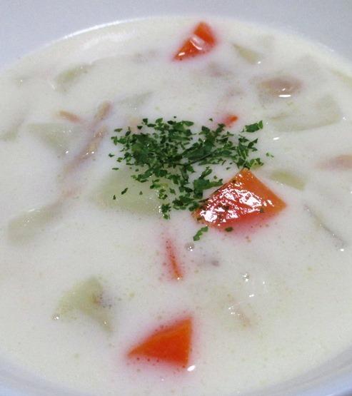ツナと野菜のチャウダースープ B