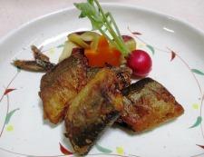 秋刀魚の香味揚げ 調理⑥