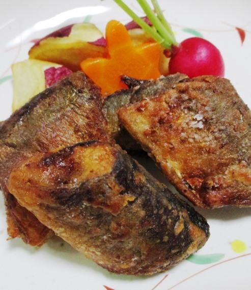 秋刀魚の香味揚げ 大