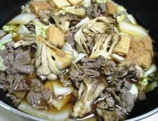 牛肉と舞茸の甘辛煮 調理⑥