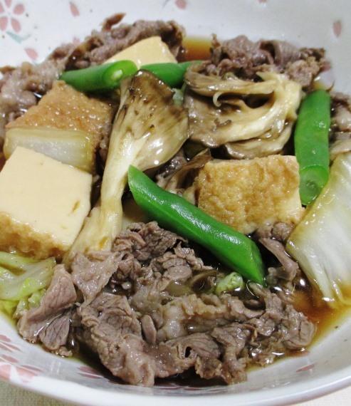牛肉と舞茸の甘辛煮 B