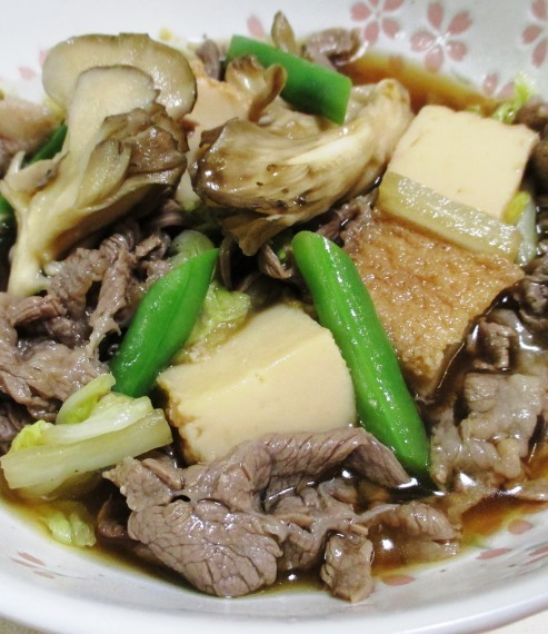 牛肉と舞茸の甘辛煮 大