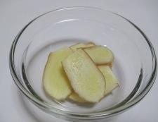 秋刀魚のしょうが煮 調理②