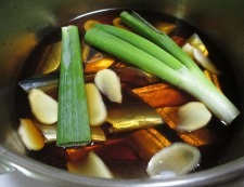 秋刀魚のしょうが煮 調理④