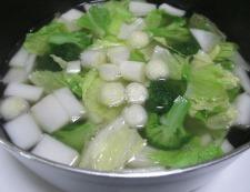 ブロッコリーのスープ 調理②