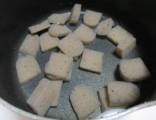 牛すじとこんにゃくの胡椒炒め 【下準備】②