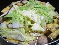 鶏だんごと白菜のうま煮 調理④