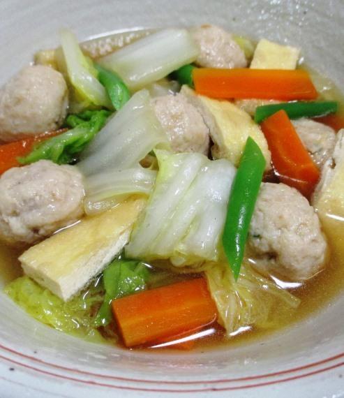 鶏だんごと白菜のうま煮 B