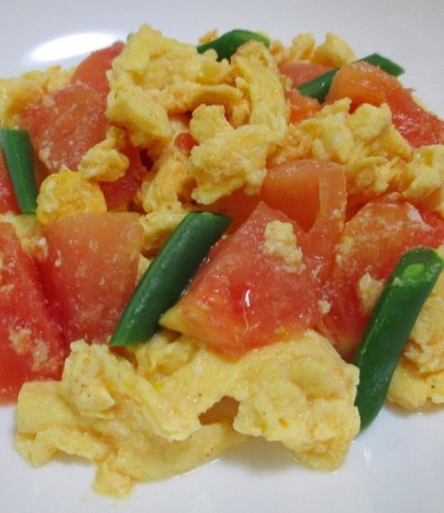 トマトと卵 B
